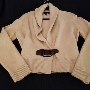 Ralph Lauren Cable Wrap Sweater